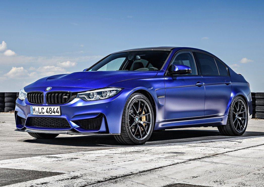 現行版M3 CS(Club Sport)。 摘自BMW