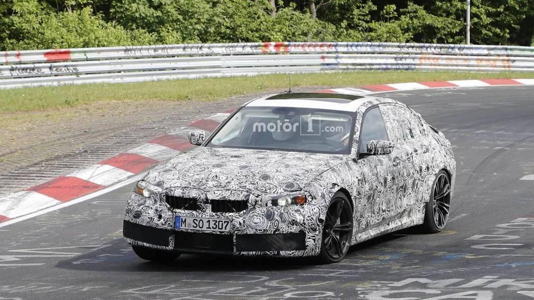 全新M3將會有465匹馬力與輕量化車體。 摘自motor1