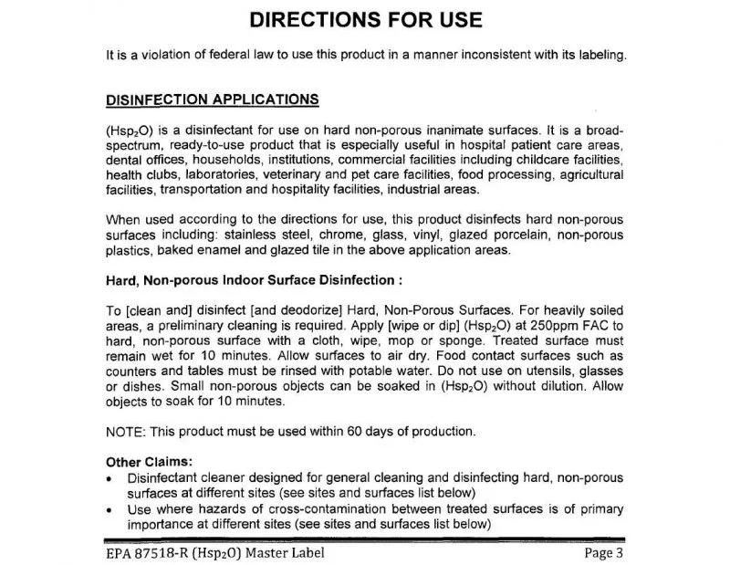 美國環保局EPA 註冊文件截取-2 圖片提供/MedPartner 美的好朋友