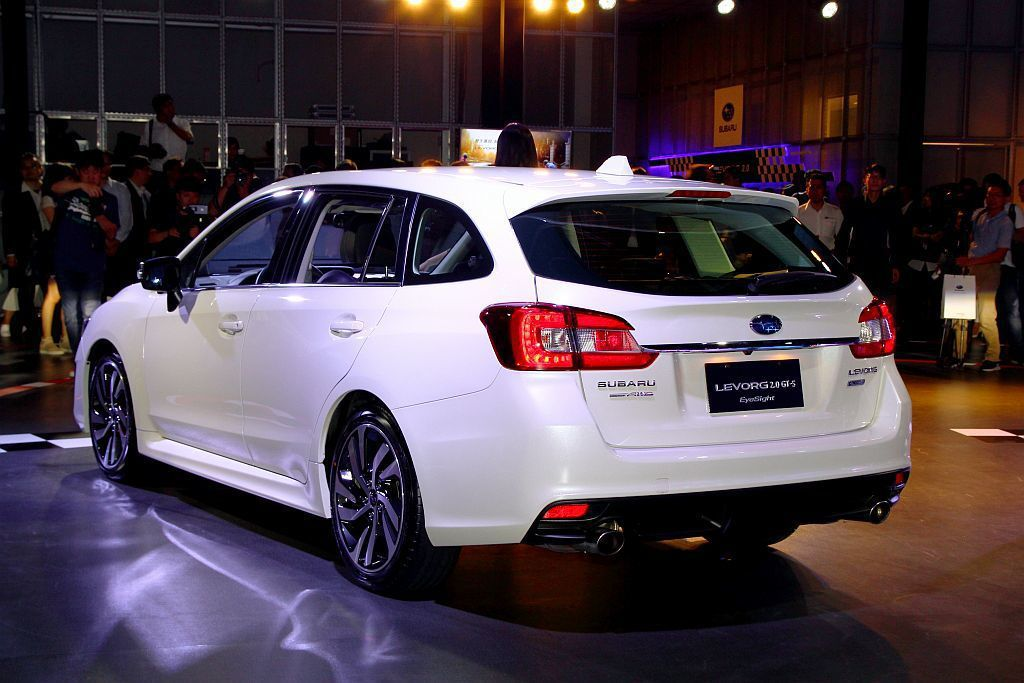 Subaru Levorg 2.0 GT-S EyeSight。 記者張振群/攝...