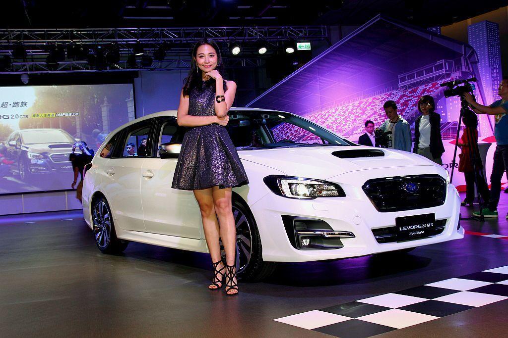 經過6月初的預告後,Subaru Levorg 2.0 GT-S EyeSight正式發表。 記者張振群/攝影