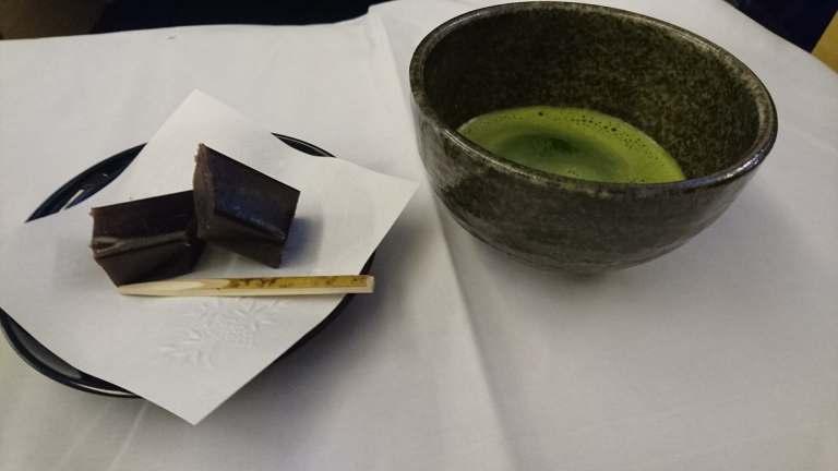 最後以小羊羹與綠茶作結束 圖文來自於:TripPlus