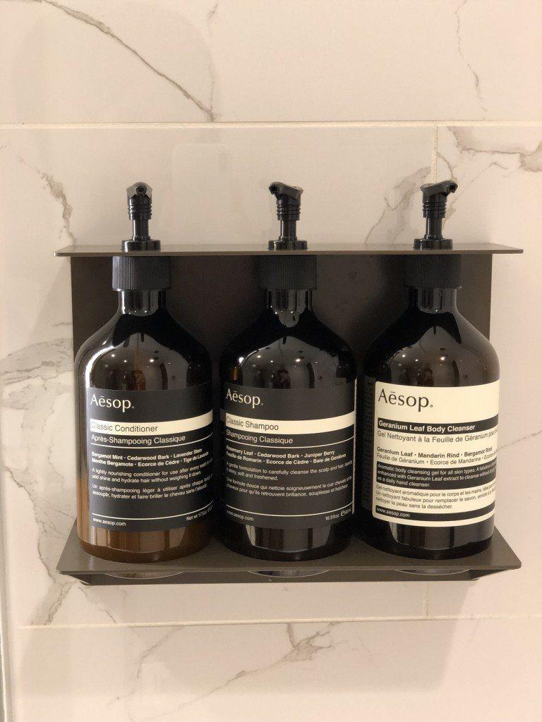"""與國泰航空相同,衛浴用品是用澳洲品牌""""Aesop"""",很喜歡它們家的東西 圖文來自..."""