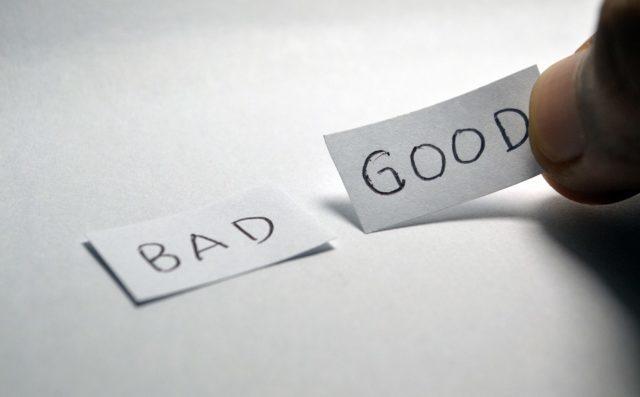 ▲ 什麼是好?什麼是壞?在多數情況下,人們對事物的判斷都是相對的。(Source...