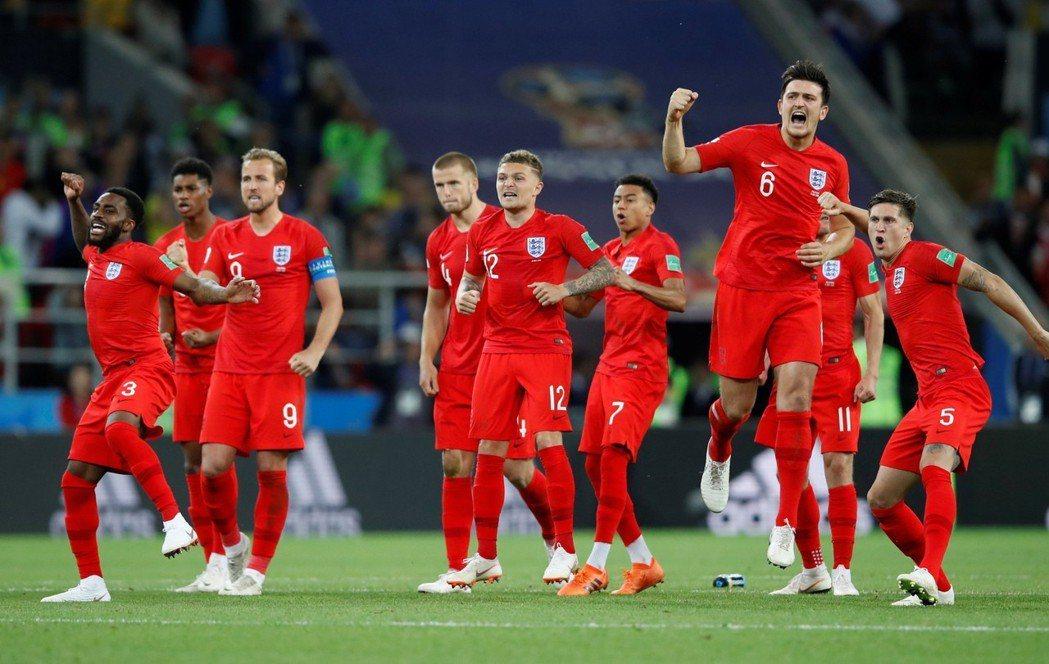 哥倫比亞與英格蘭的對決最終以PK戰決勝負,後來由英格蘭以4:3驚險勝出,奪得8強...