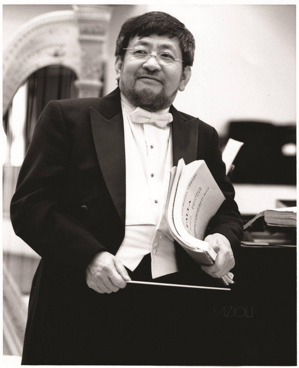 第29屆傳藝金曲獎出版類特別獎得主為指揮家陳秋盛。圖/台北市立交響樂團提供