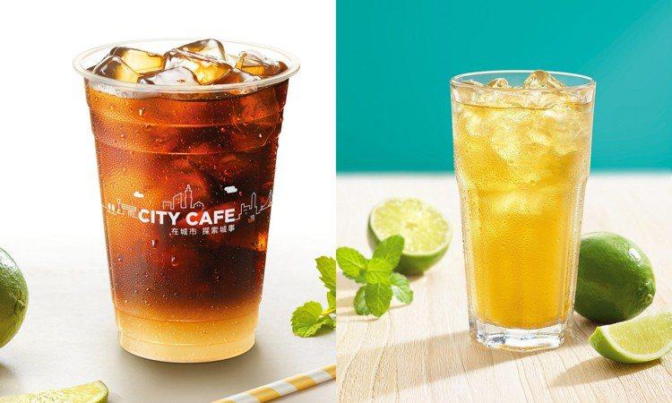 西西里風檸檬咖啡大杯65元,7月17日前CITY CAFE美式、西西里風檸檬咖啡...