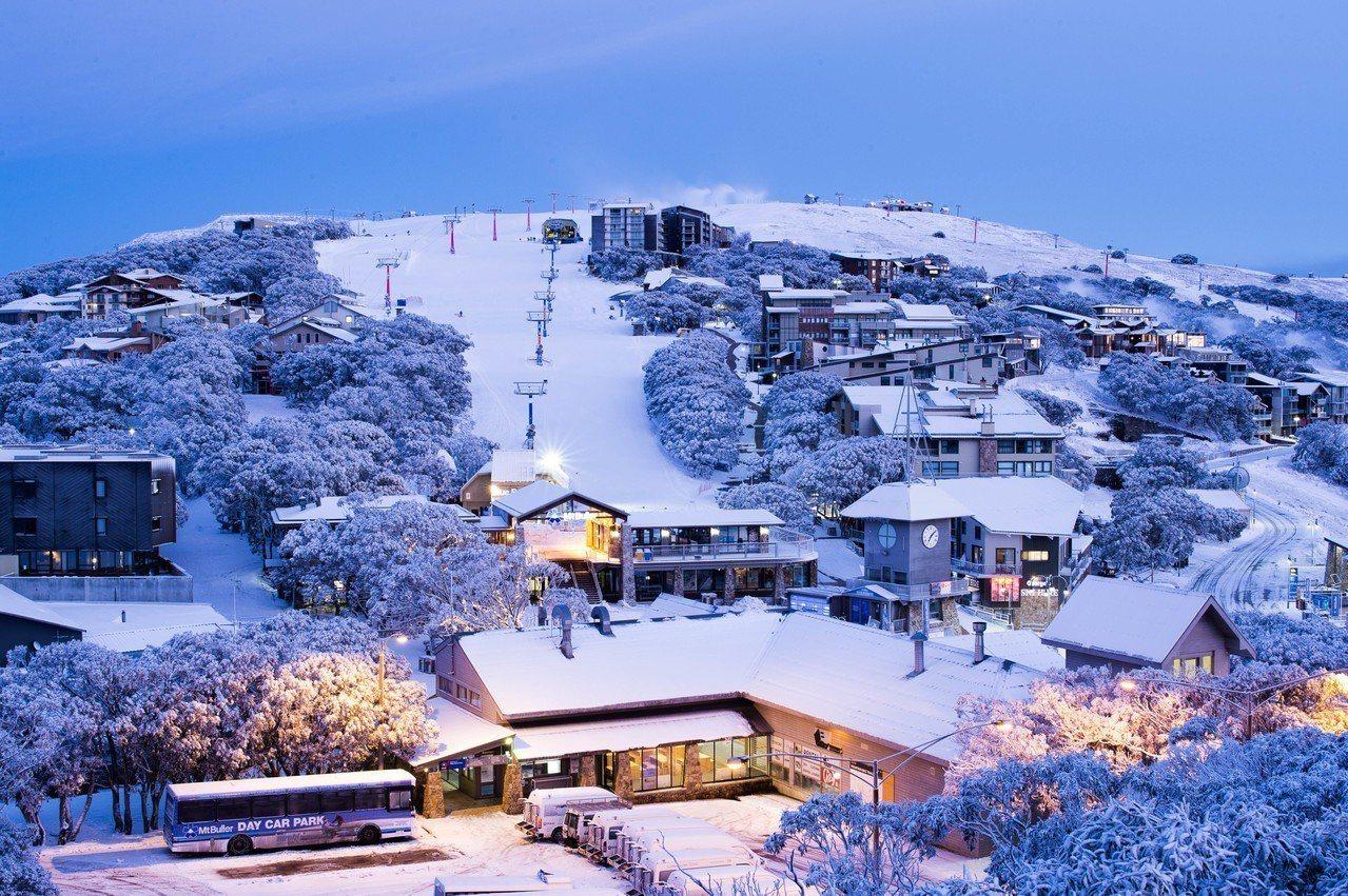 人氣最旺的布勒山滑雪場。圖/澳洲旅遊局提供