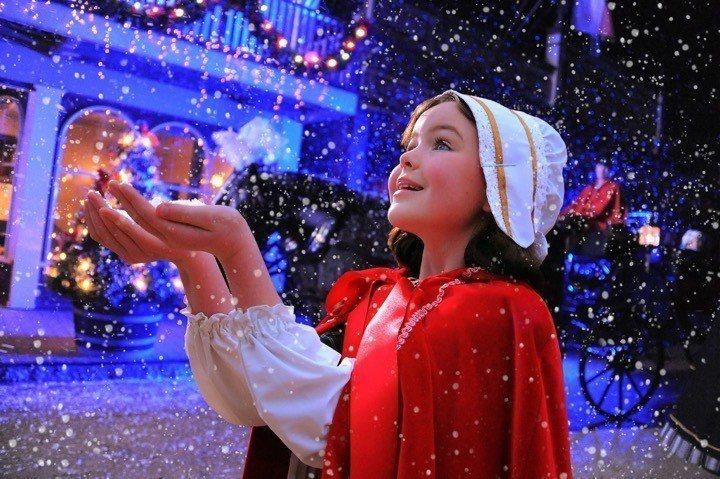 疏芬山推出了夢幻感十足的聖誕慶典。圖/澳洲旅遊局提供