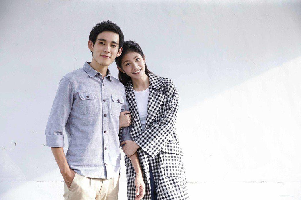 李千娜(右)與徐鈞浩在「種菜女神」中上演床戲。圖/毆銻銻娛樂提供