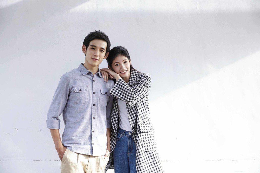 李千娜(右)與徐鈞浩在「種菜女神」中演一對互動激烈的情人。圖/毆銻銻娛樂提供