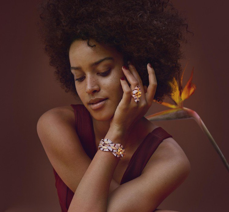 「CHAUMET的世界」第三篇章「非域珍藏」高訂珠寶,以蘊含自然魅力的非洲動植物...
