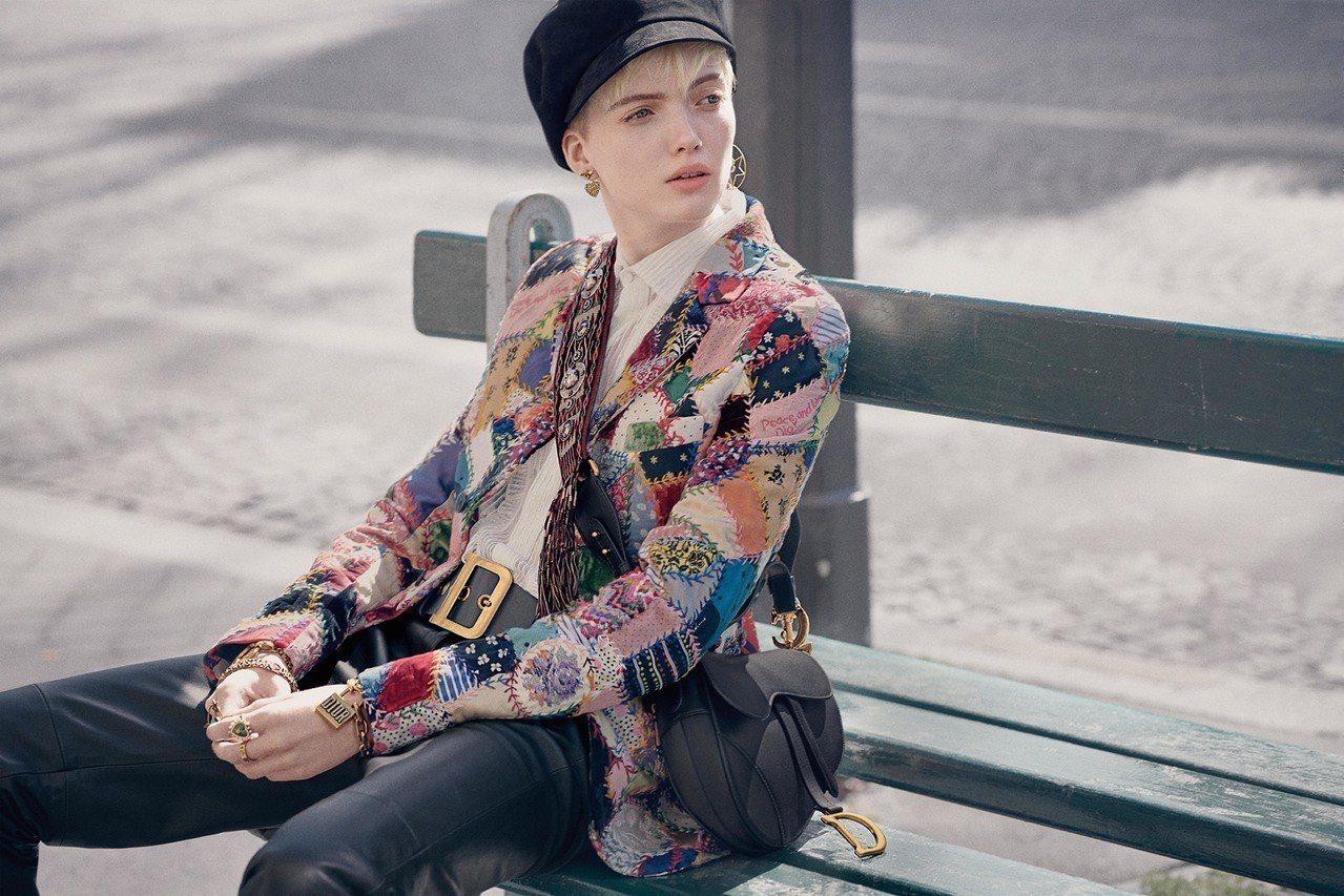 Dior秋冬形象广告法国新浪潮时期的知性品味