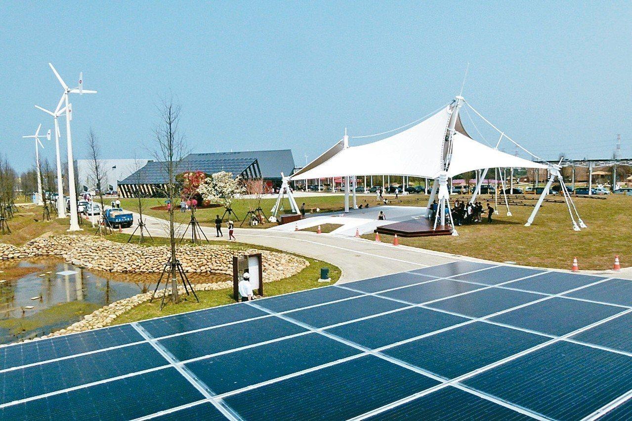 圖為太陽能板。 圖/聯合報系資料照片