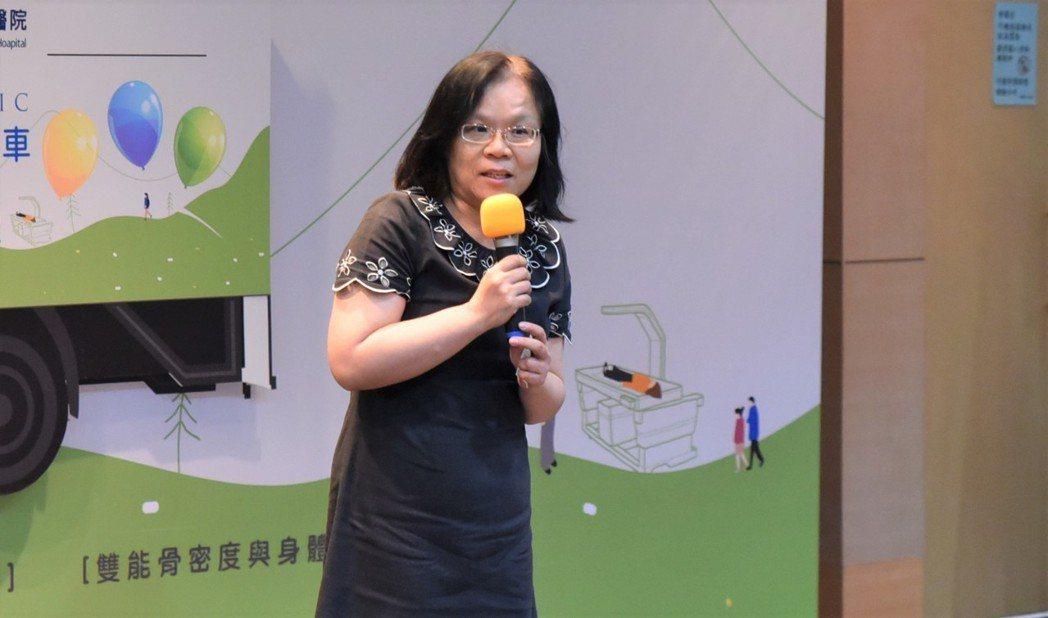 高雄市政府衛生局副局長蘇娟娟。 黃啟銘/攝影。