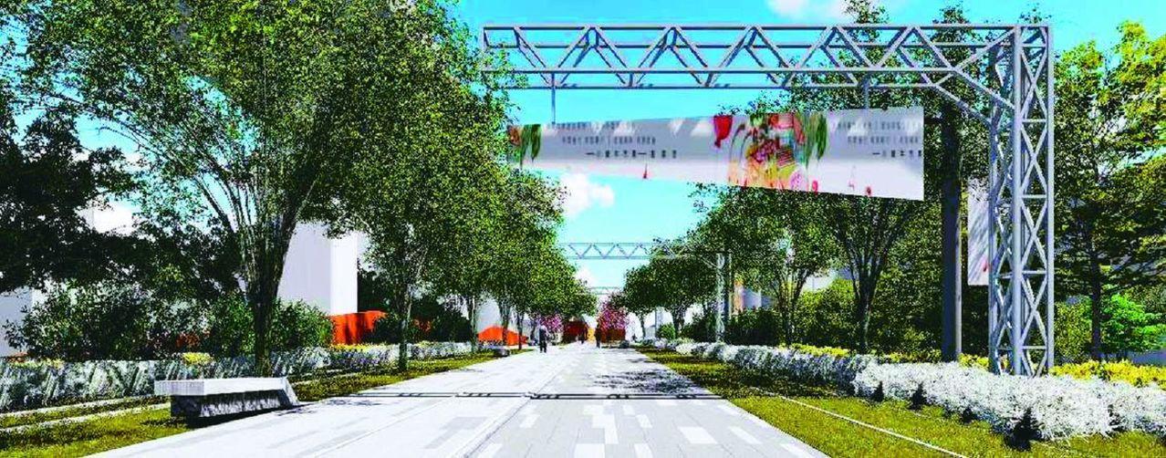 台中市打造綠空鐵道,要將鐵路高架化後的舊軌道空間,改造成線性綠地。