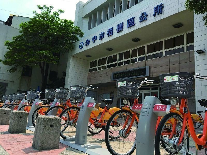 台中市制定「自行車369」政策,廣設iBike租賃站,串接29區公共運輸系統第一...