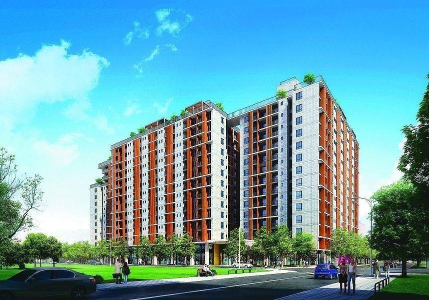 台中市首座安康社宅已完工進住,嶄新的空間規劃贏得好評。