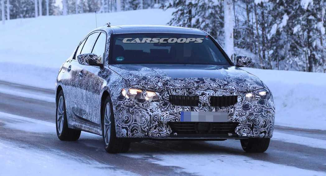 圖為新世代BMW 3-Series Sedan測試車。 摘自Carscoops