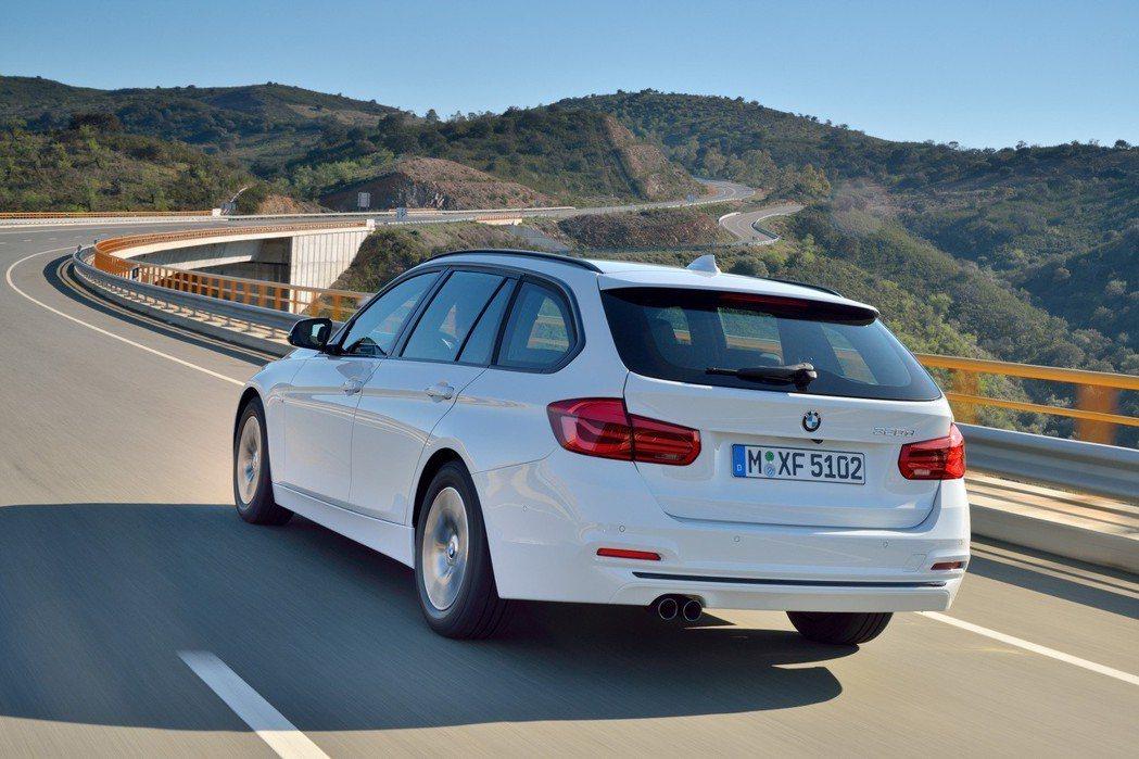 現行版BMW 3-Series Touring(F31)。 摘自BMW