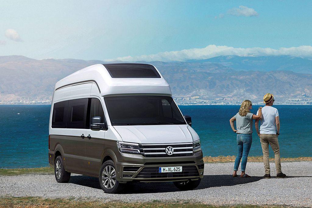 未來Crafter Camper量產後也會有專屬的單或雙色車身塗裝。 圖/福斯商旅提供