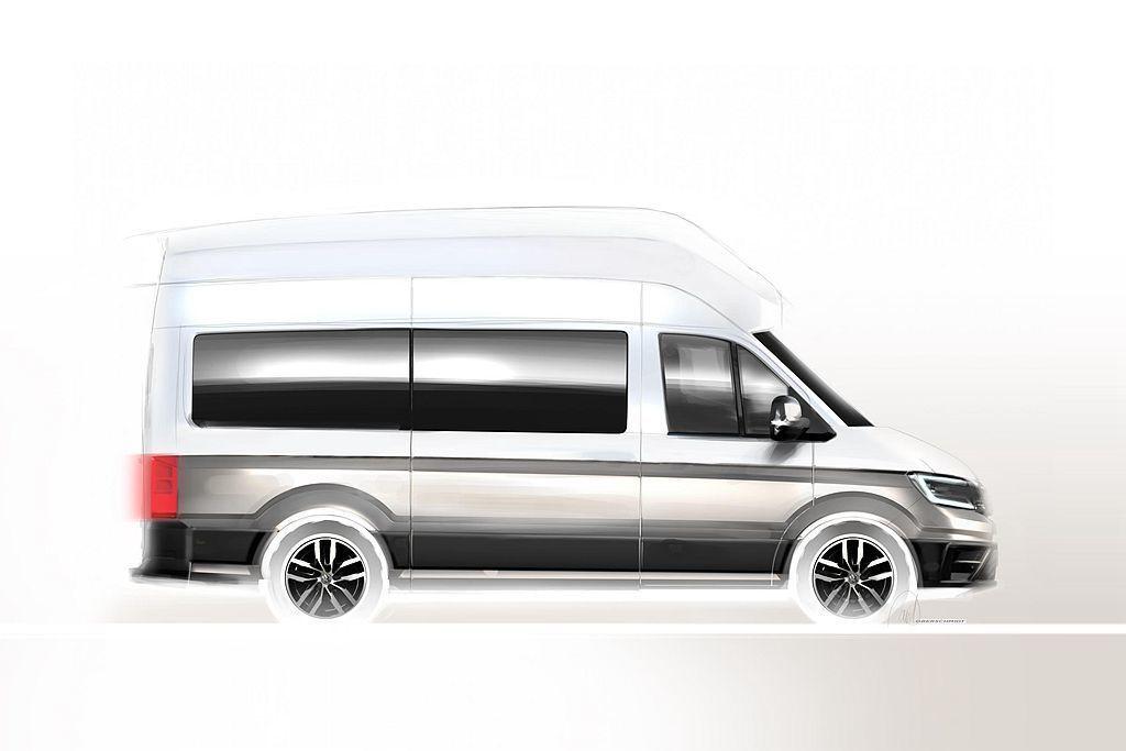 德國福斯商旅預告,將在8月底的杜塞道夫露營車大展,推出新露營車款。 圖/福斯商旅提供