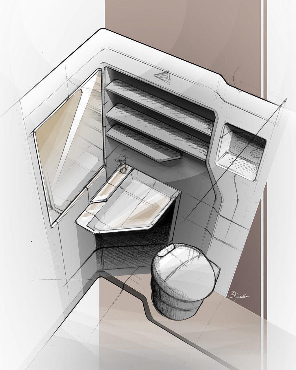 光是有專屬隱密的衛浴設備,光這賣點相信就可以吸引許多露營愛好者。 圖/福斯商旅提供