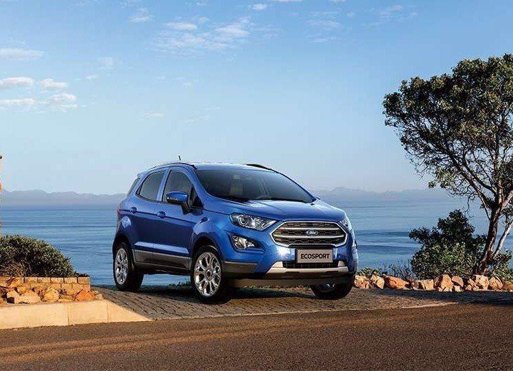 美國市場將會著重於跨界車與休旅車型上。圖為Ford EcoSport。 摘自Fo...