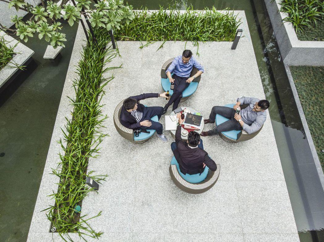 「京懋会」顛覆傳統辦公思維,讓職場從一個「地方」轉換為一種「態度」。