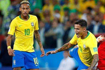 巴西不是光靠內馬爾翻滾 神隊友庫蒂尼奧才是靈魂