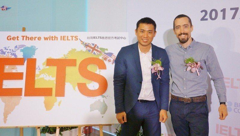 曾柏穎(左)與雅思獎金評審相談甚歡。 徐谷楨/攝影