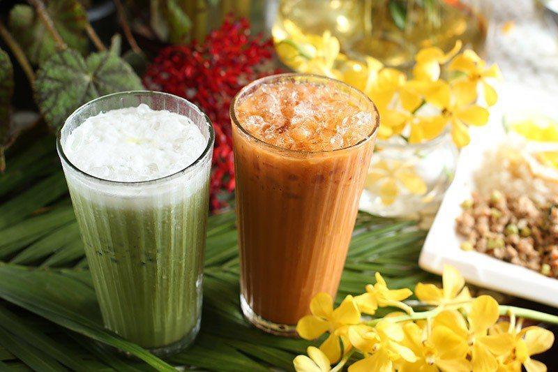 泰式奶茶和泰奶綠歐雷是夏日不可或缺的泰國味