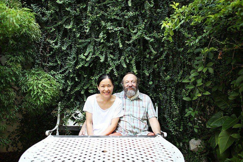 笑容可掬的夫妻倆讓人有種到朋友家作客的輕鬆感