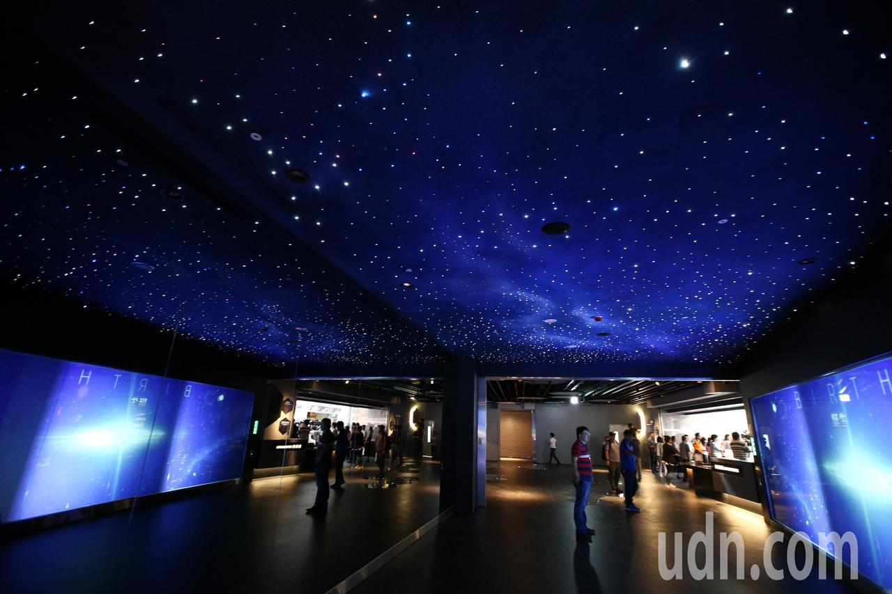 台北市立天文館內一景。聯合報系資料照片/記者蘇健忠攝影