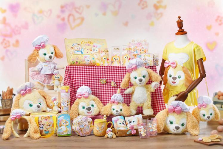 香港迪士尼今年內將會推出超過50款全球獨家Cookie主題商品。圖/香港迪士尼樂...