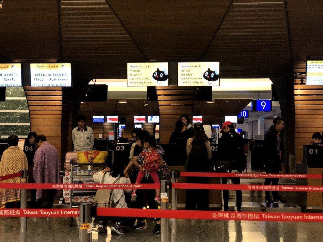 一旦被列為黑名單,旅客的名字在其他航空公司也會被標示。記者魏妤庭/攝影