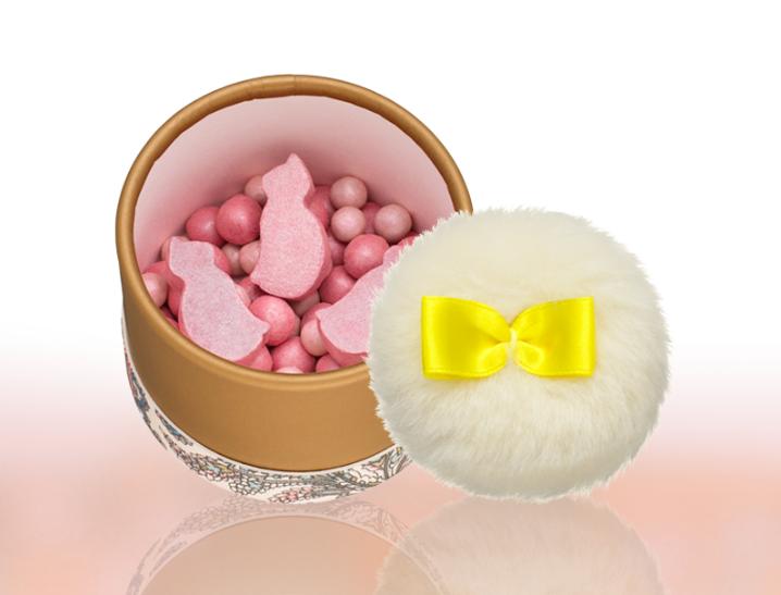 粉紅貓咪限量頰彩球1,150元。圖/摘自PAUL & JOE官網