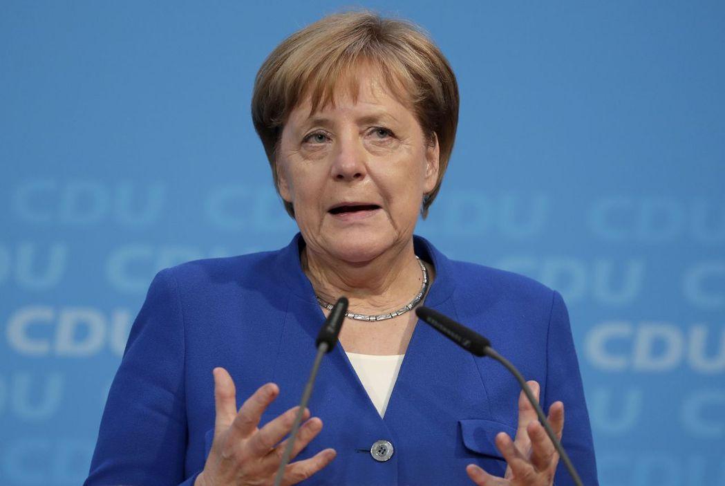 德國總理梅克爾。圖/美聯社
