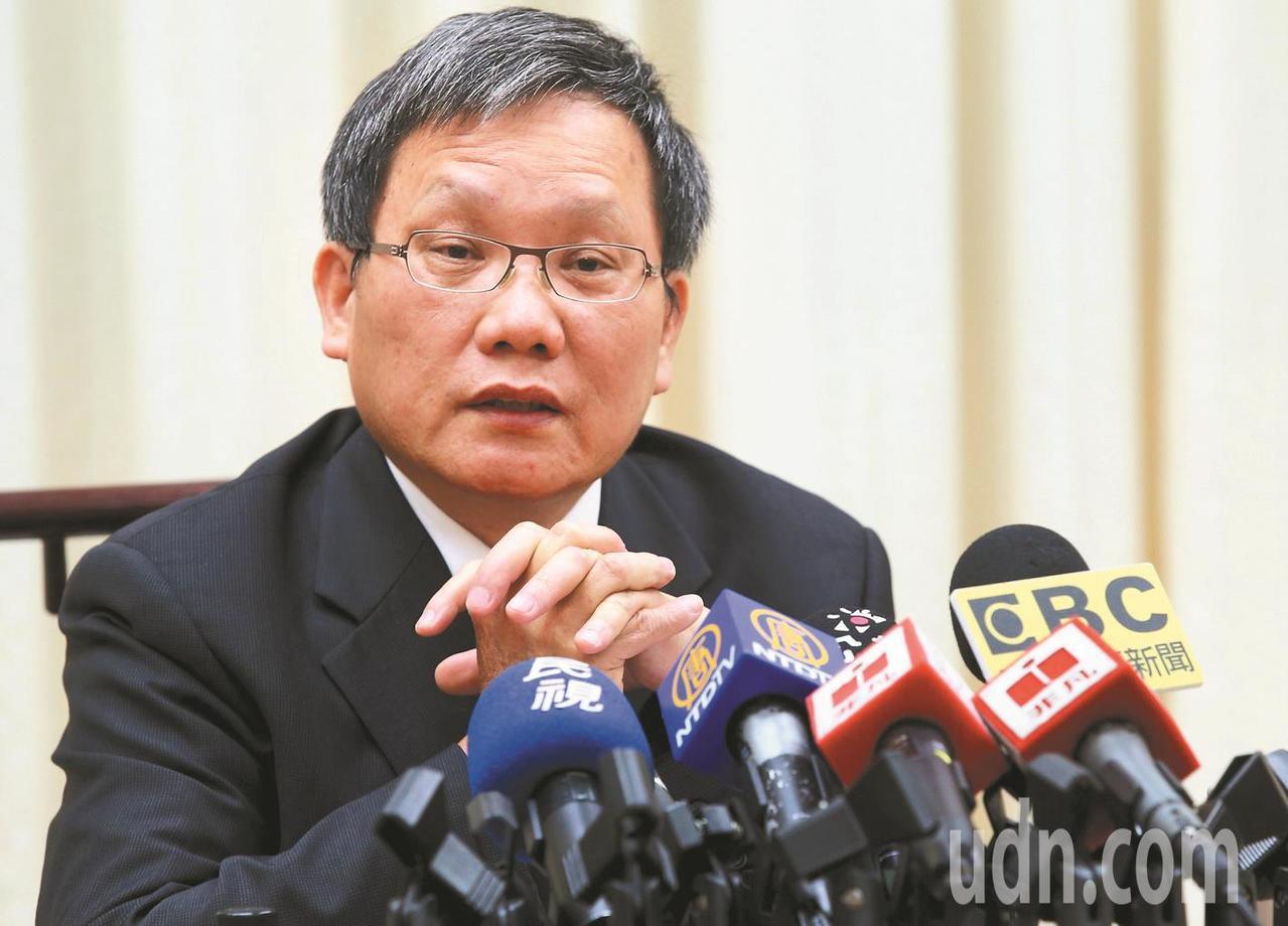 新任財長蘇建榮。 圖/聯合報系資料照片