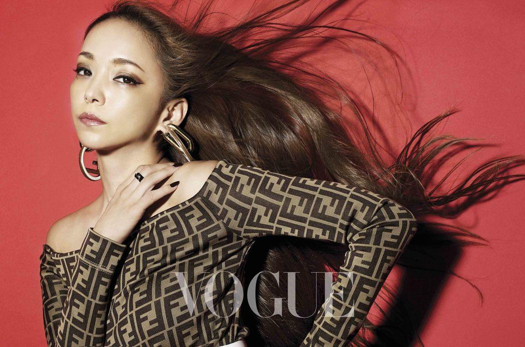 安室奈美惠將歌迷視為自己的力量。圖/VOGUE提供
