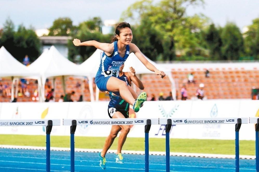 楊睿萱被看好有機會挑戰雙金成績。 圖/中華田徑協會提供