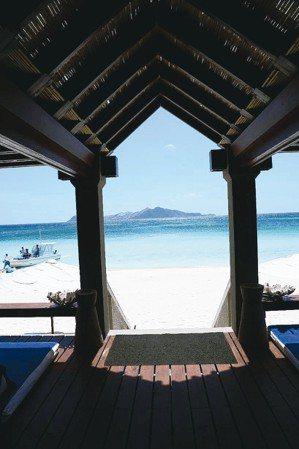 從Beach Club看出去,像是一幅被框住的畫作。 圖/MT、各業者提供