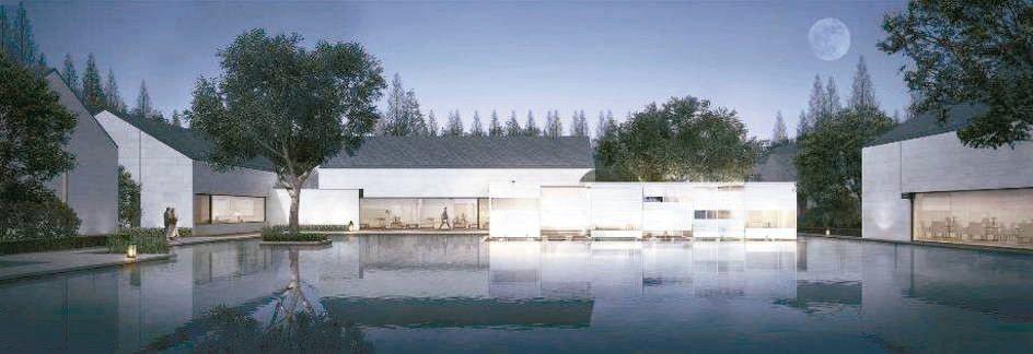 Alila Wuzhen可享受私人庭園與泳池。 圖/各業者提供