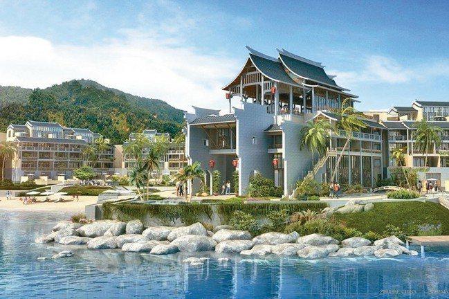 鳳凰灣悅椿呈現典型嶺南建築。 圖/各業者提供