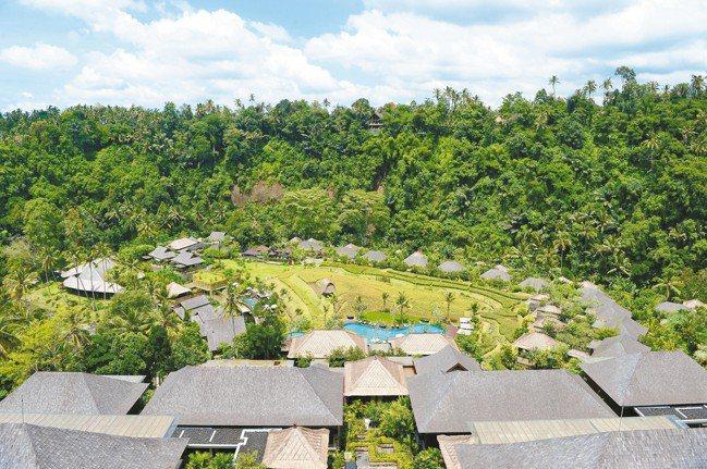 Mandapa, a Ritz Carlton Reserve Villa跟大自...