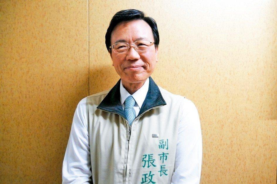 台南市副市長張政源。 記者鄭維真/攝影
