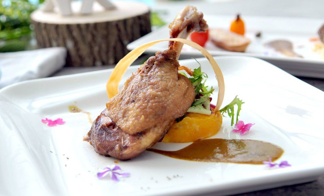 法式舒薇低溫料理,不破壞食材營養,還能提升口感。  台南大飯店 提供