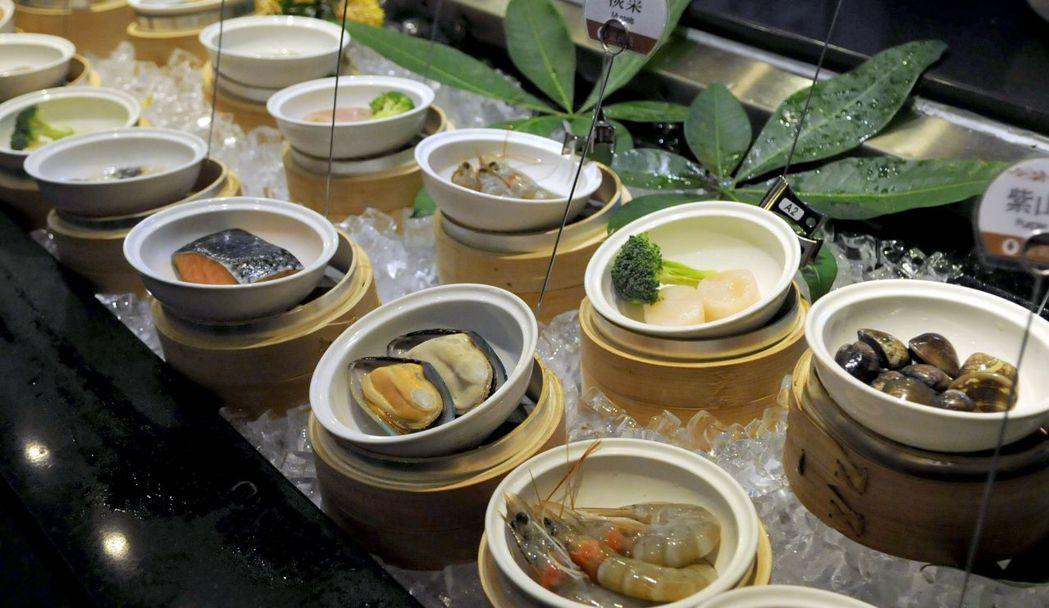 蒸鮮料理,充分發揮每一種新鮮食材的甘甜味美。  台南大飯店 提供