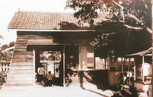 台鐵林榮車站舊照。 圖/台鐵提供