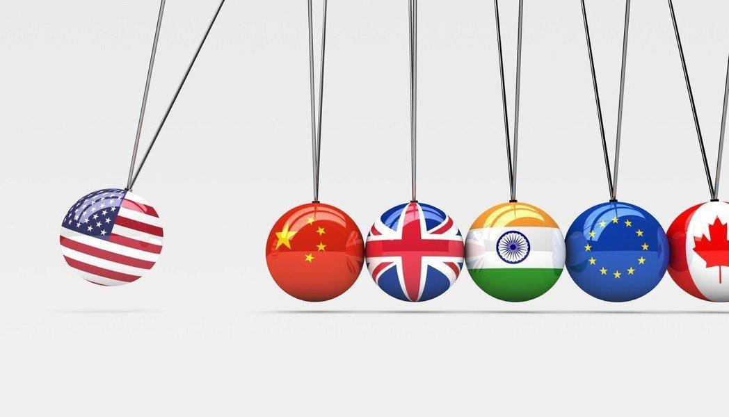 美國與各國的貿易戰開打。 Ingimage